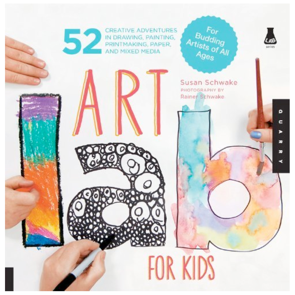 Art Activity Books for Kids