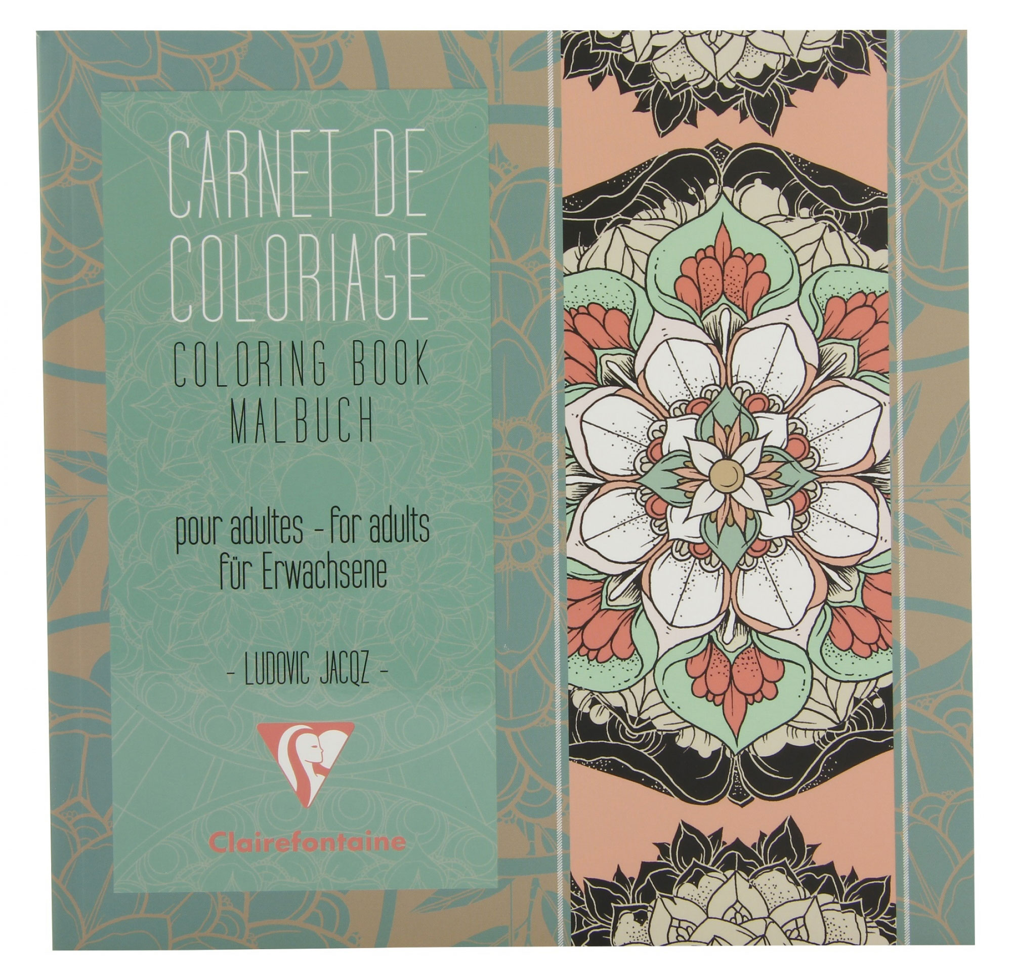 Clairefontaine Artist Coloring Book: Mandala