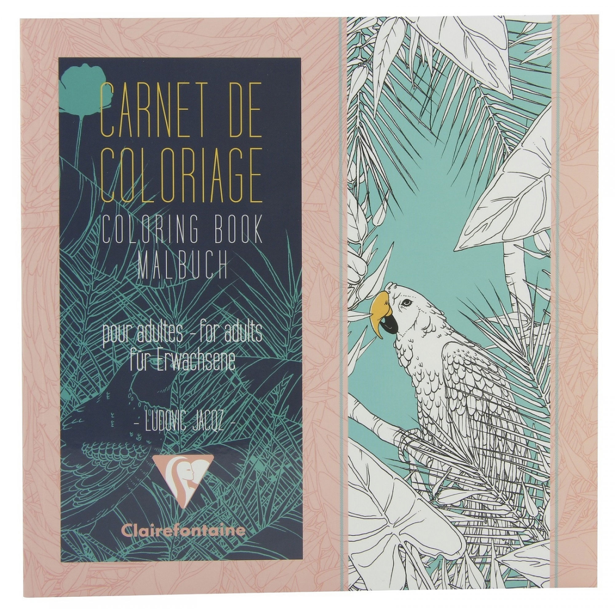 Clairefontaine Artist Coloring Book: Birds