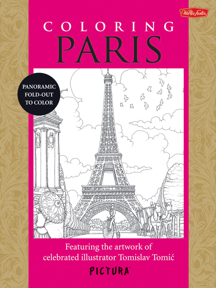 Foster Pictura Coloring Book Paris