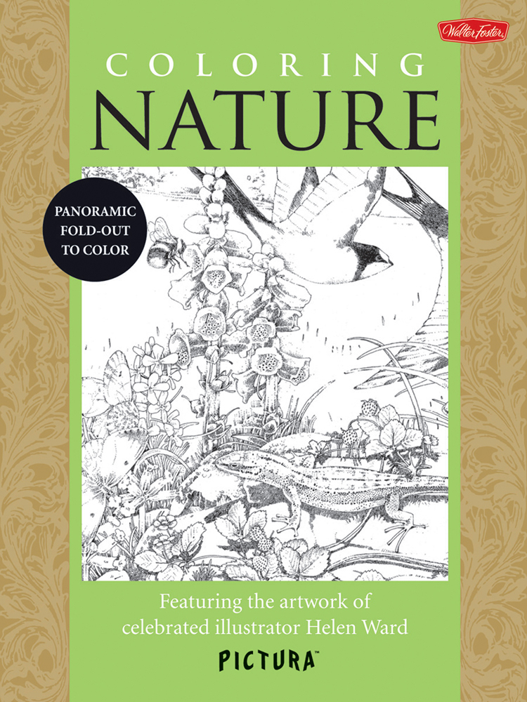 Foster Pictura Coloring Book Nature