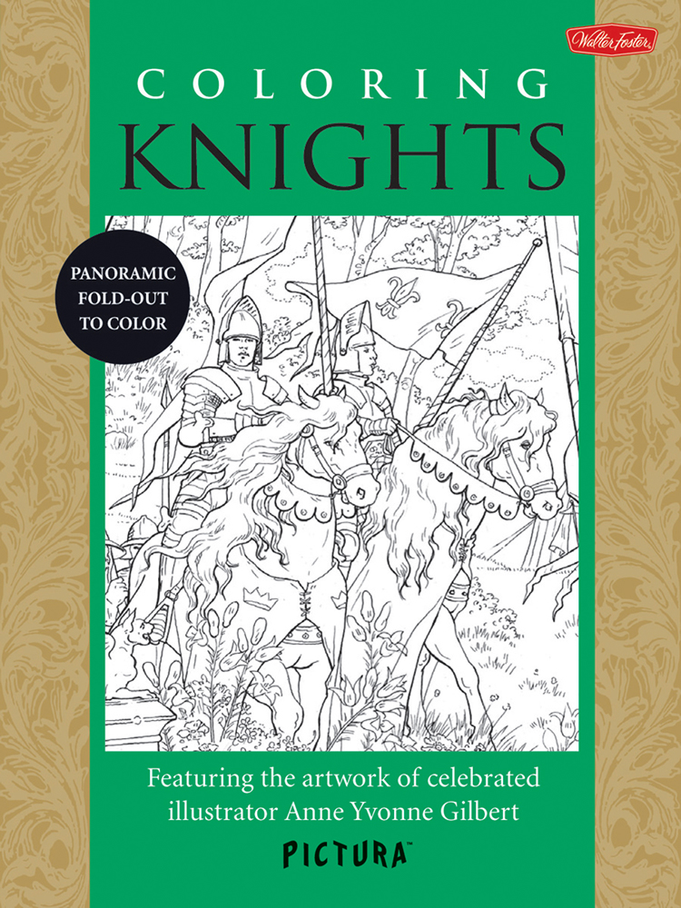 Foster Pictura Coloring Book Knights