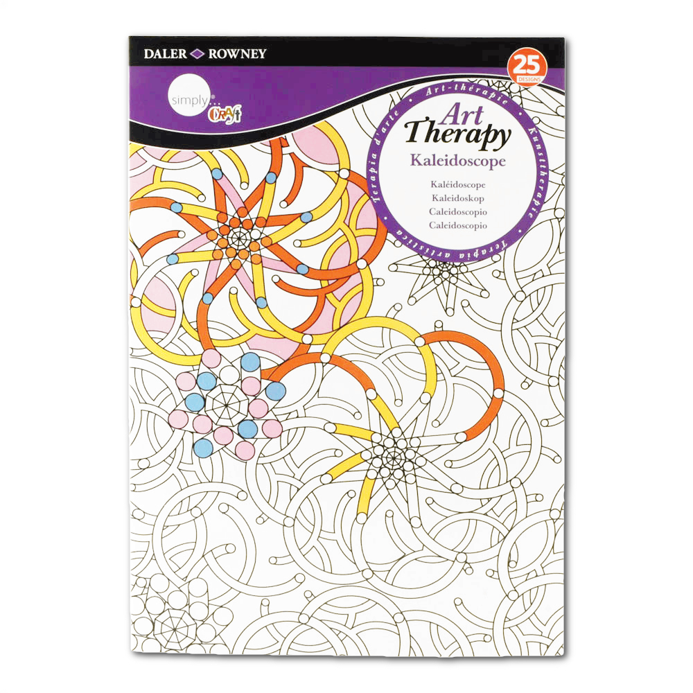 Daler-Rowney Colouring Book Kaleidoscope Sml