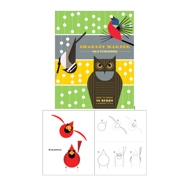 How To Draw 28 Birds: Charley Harper