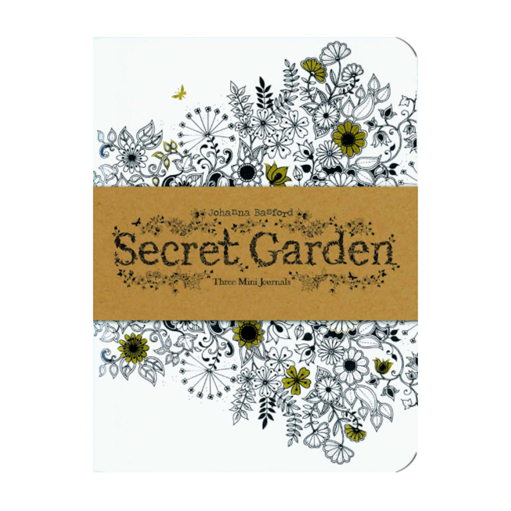 Secret Garden: 3 Mini Journals
