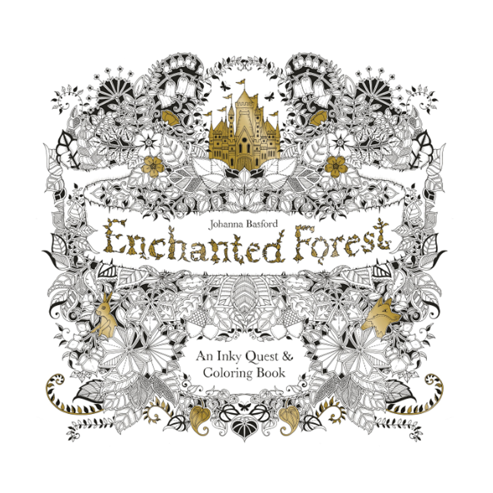 BUY Enchanted Forest Coloring Book