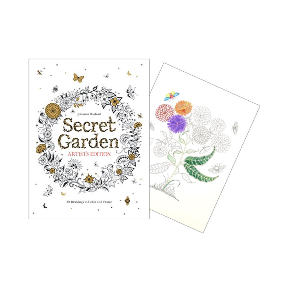 Secret Garden Artist Edition 20 Drawings
