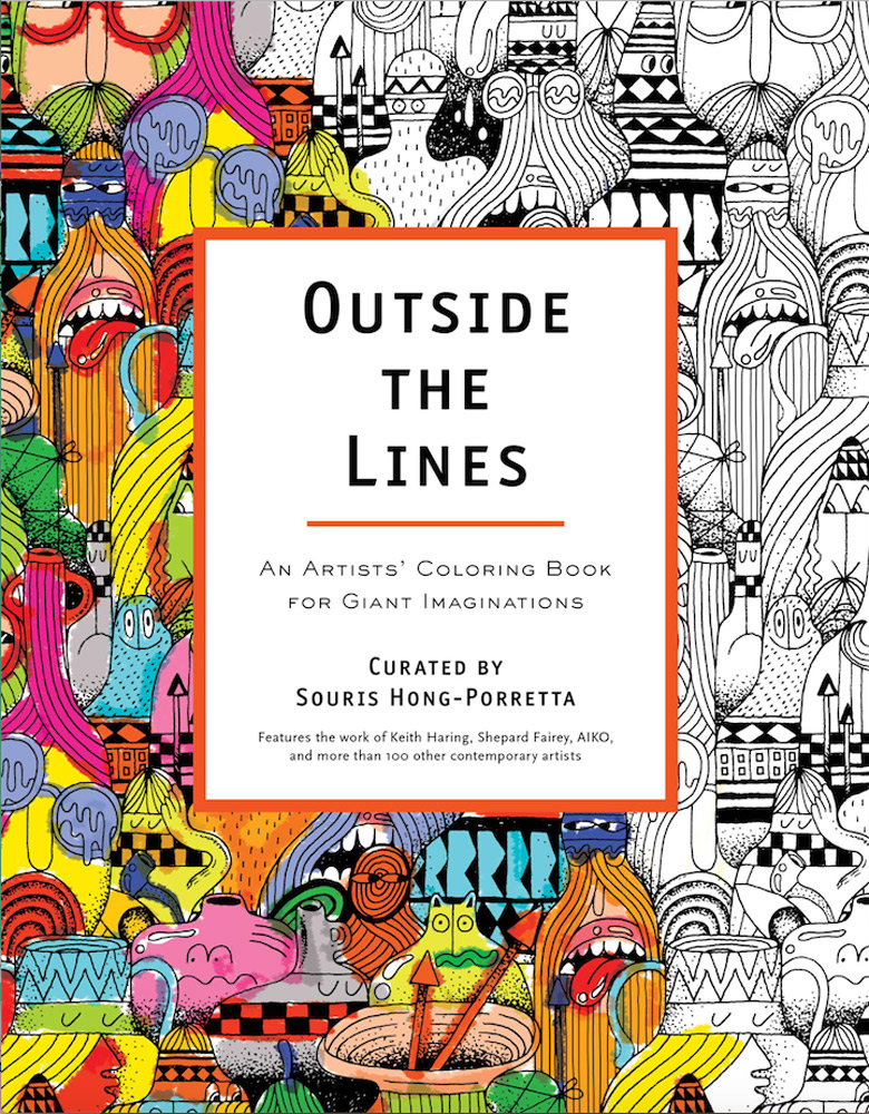 Coloring Book: Outside The Lines