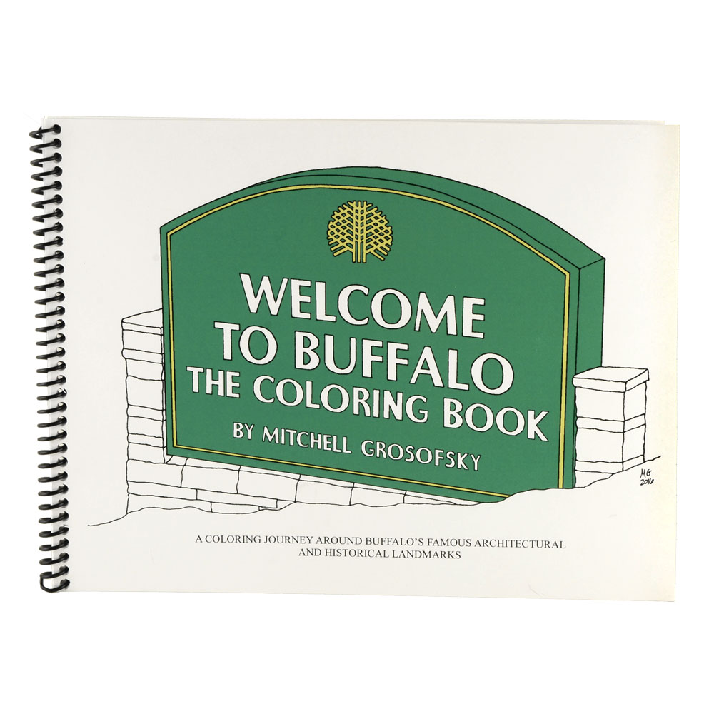 Welcome To Buffalo Coloring Book