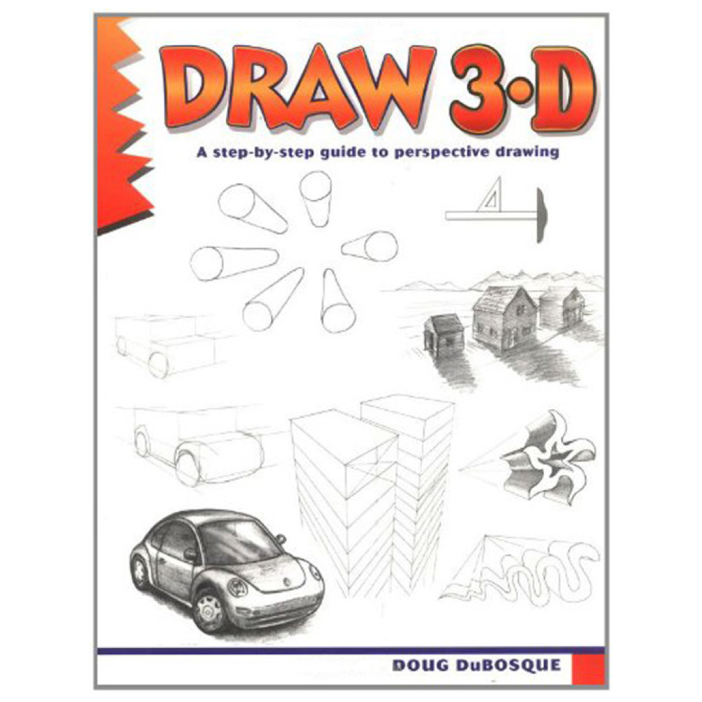 Learn To Draw Series: Draw 3-D