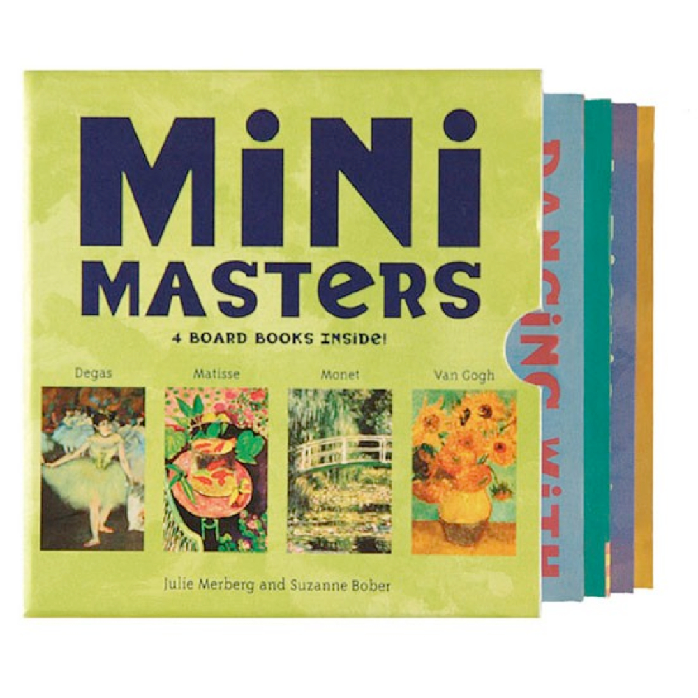 Mini Masters Books Boxed Set
