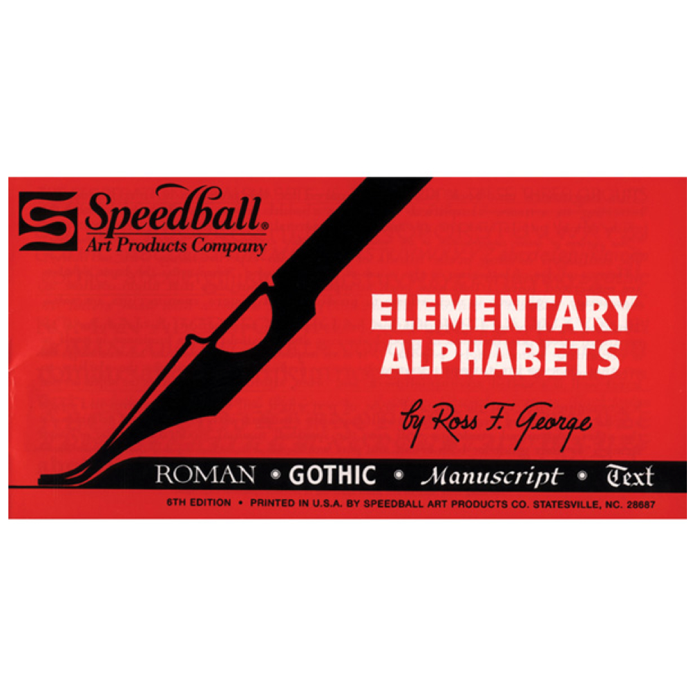 Speedball Elementary Alphabet