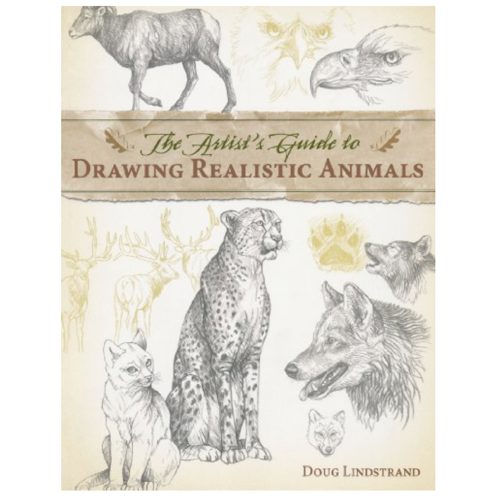 Drawing Realistic Animals Book By Lindstrand