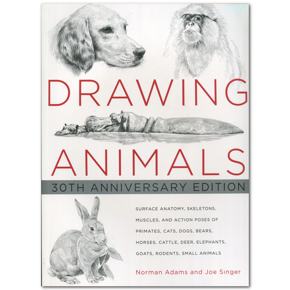 Drawing Animals Book By Adams/Singer