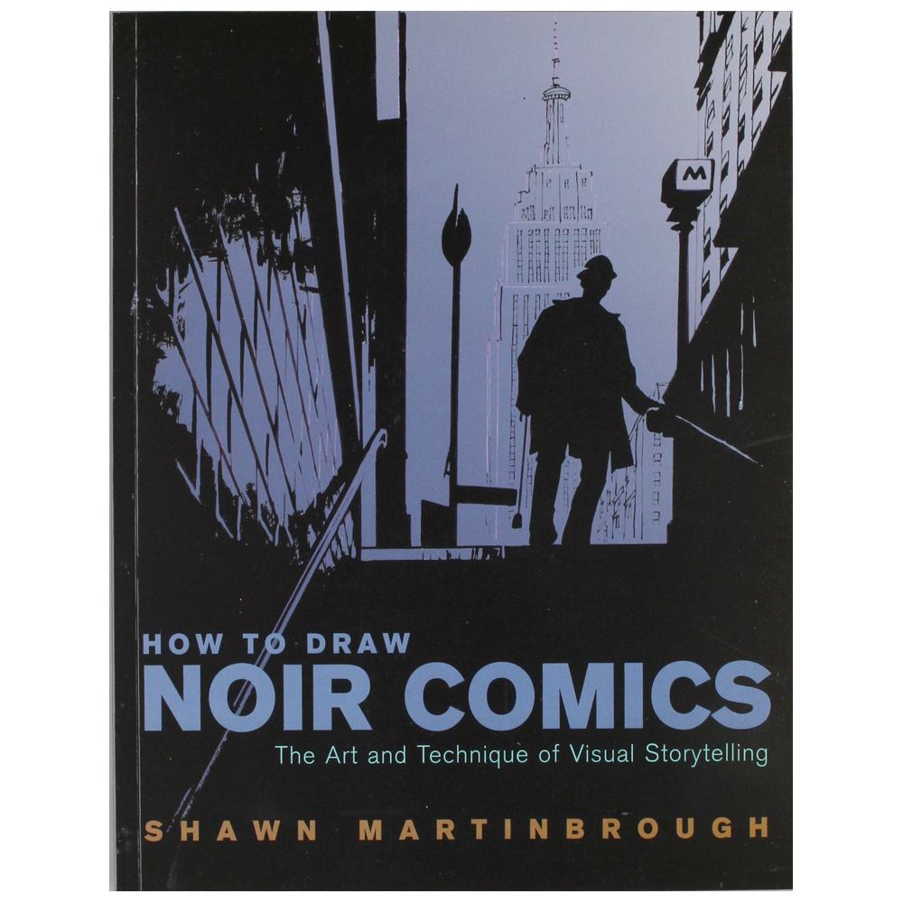 How To Draw Noir Comics By Martinbrough
