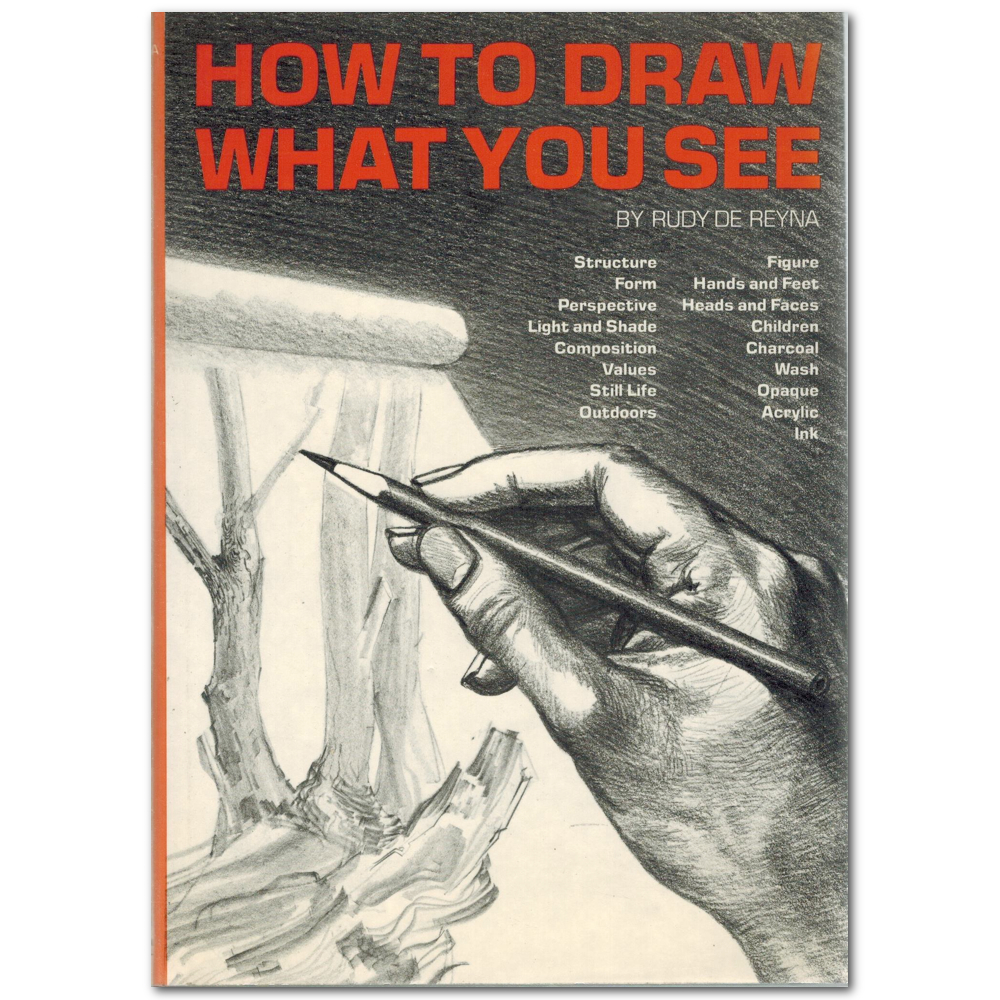 How To Draw What You See Book By De Reyna