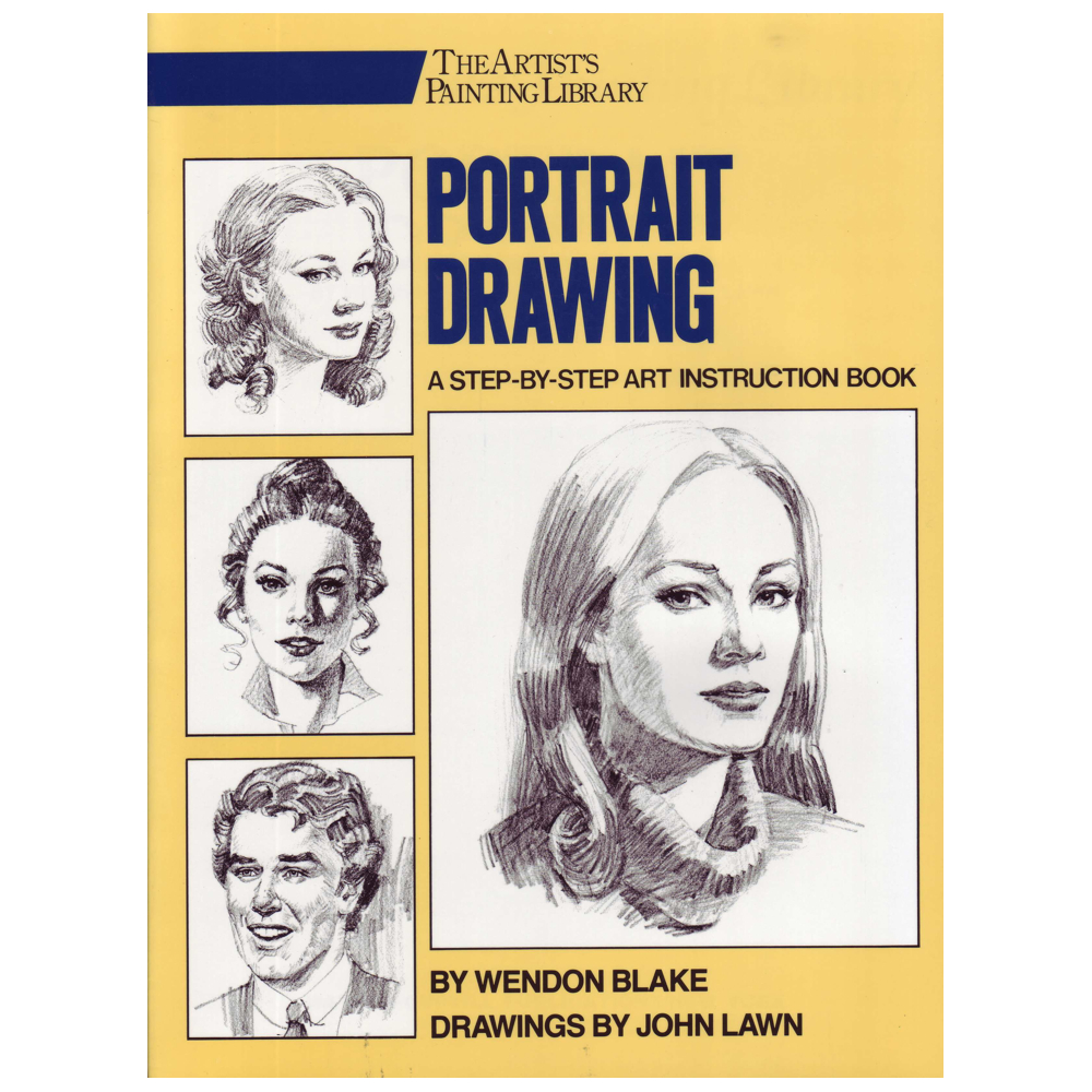 Portrait Drawing Book By Blake