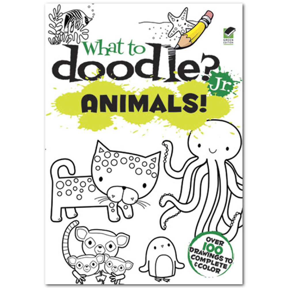 Dover What To Doodle? Jr. Animals!