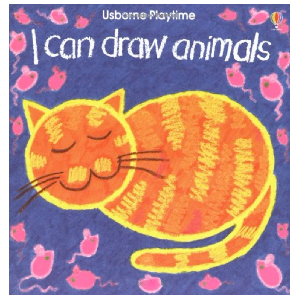 I Can Draw Animals Book