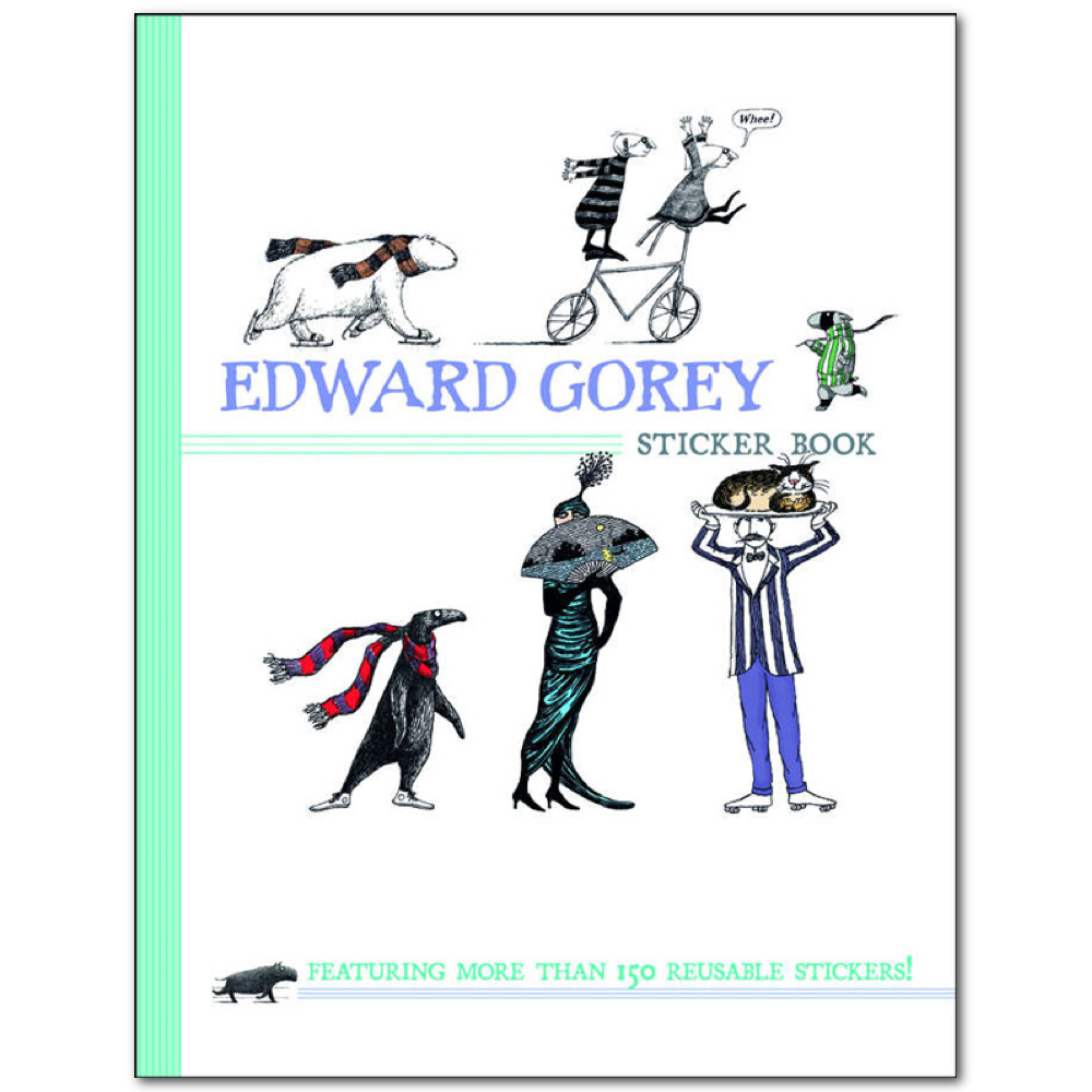 Sticker Book: Edward Gorey