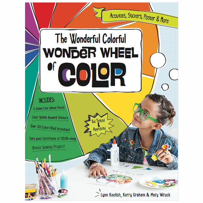 Wonderful Colorful Wonder Wheel Book