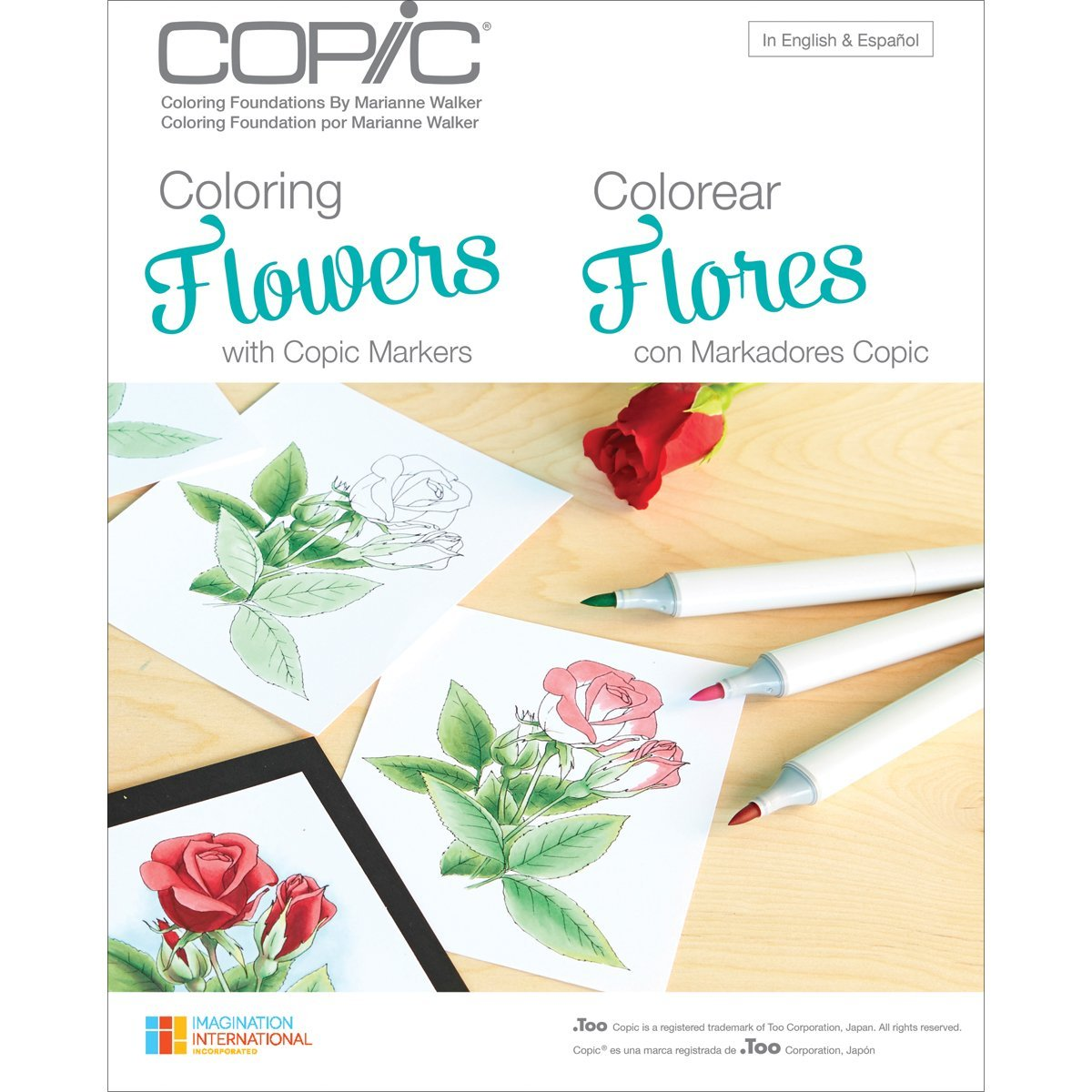 Copic Coloring Foundations Flowers