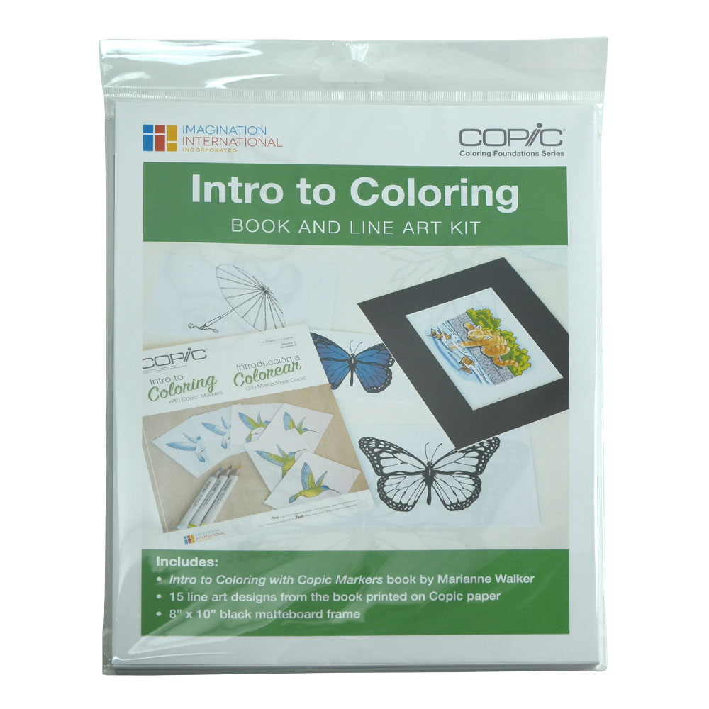Copic Coloring Intro To Coloring Kit