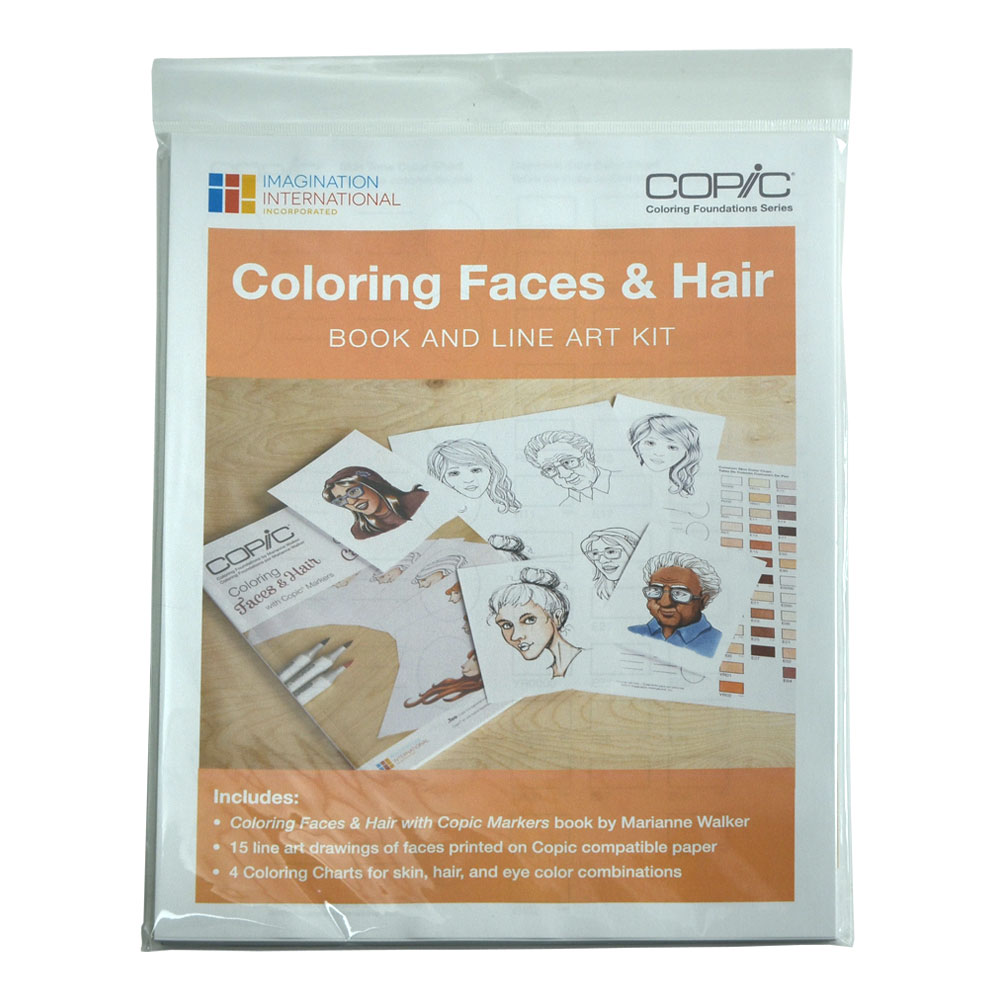 Copic Coloring Found Face And Hair Kit
