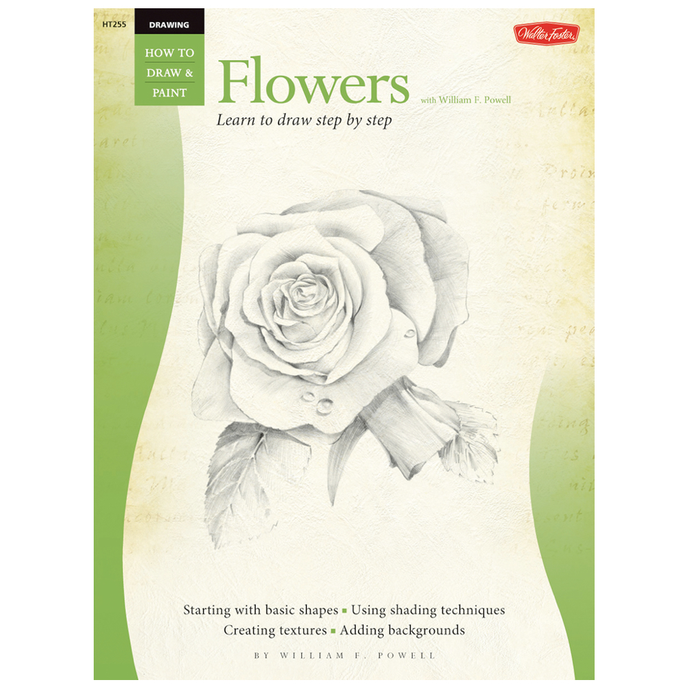 Foster Book 255: How To Draw Flowers