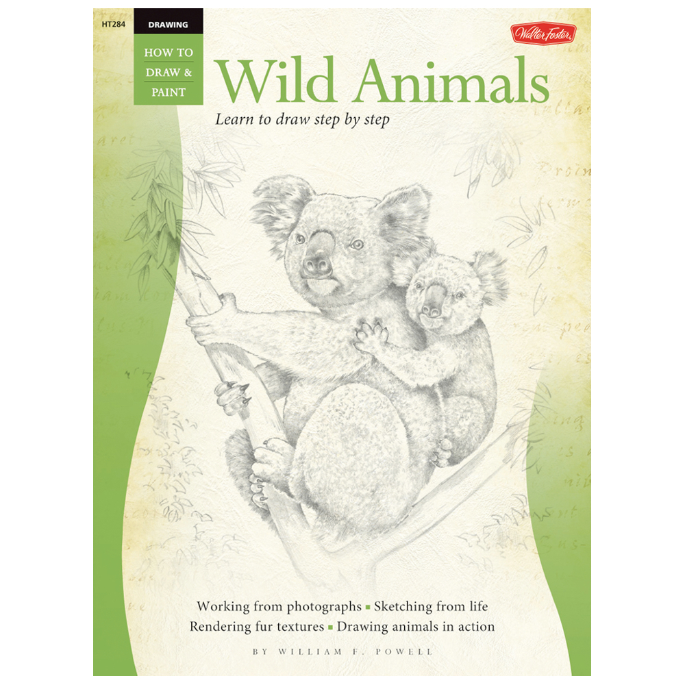 Foster Book 284: How To Draw Wild Animals