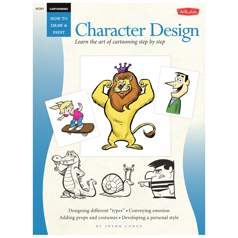 Foster Book 291: Cartoon Character Design