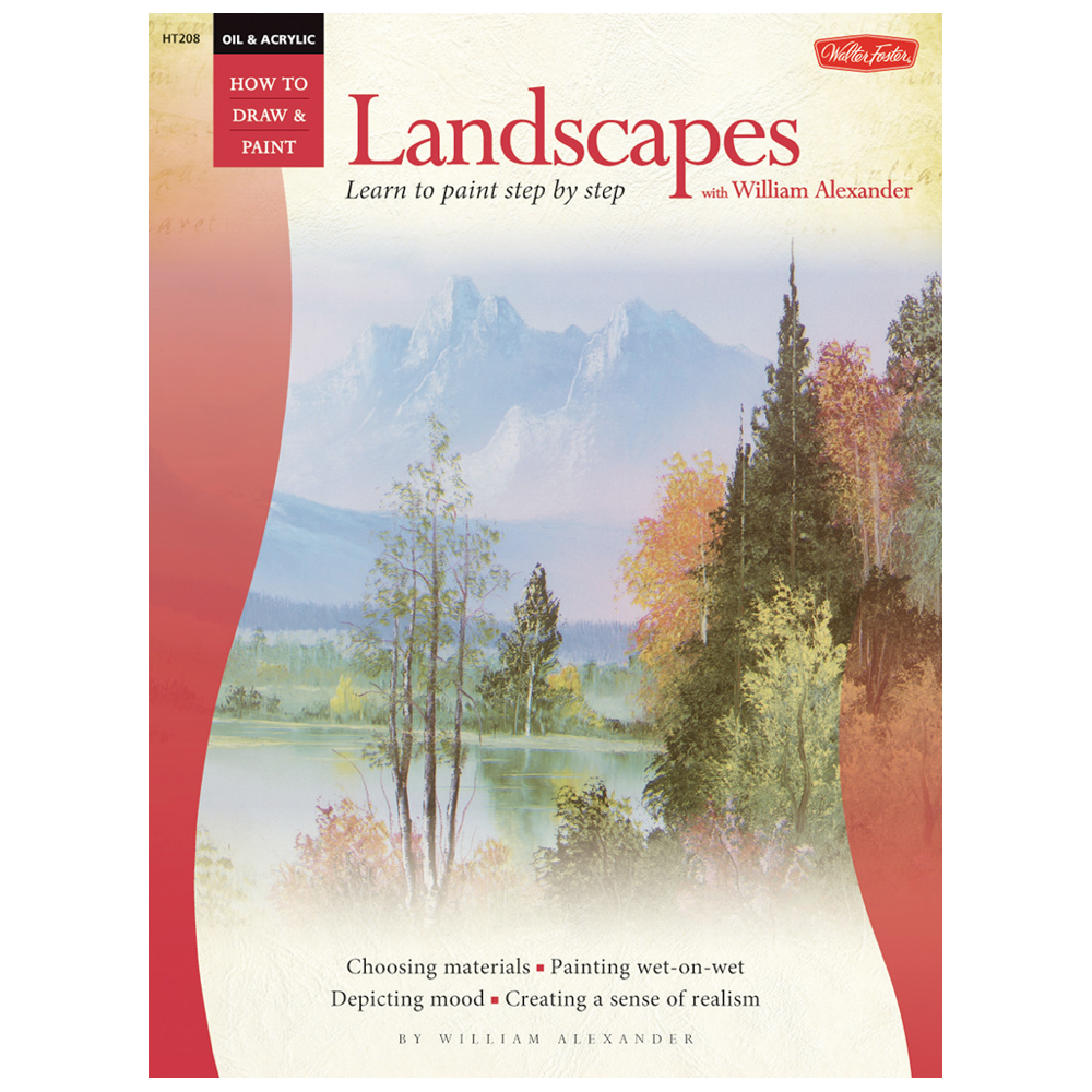 Foster Book 208: How To Oil Paint Landscapes