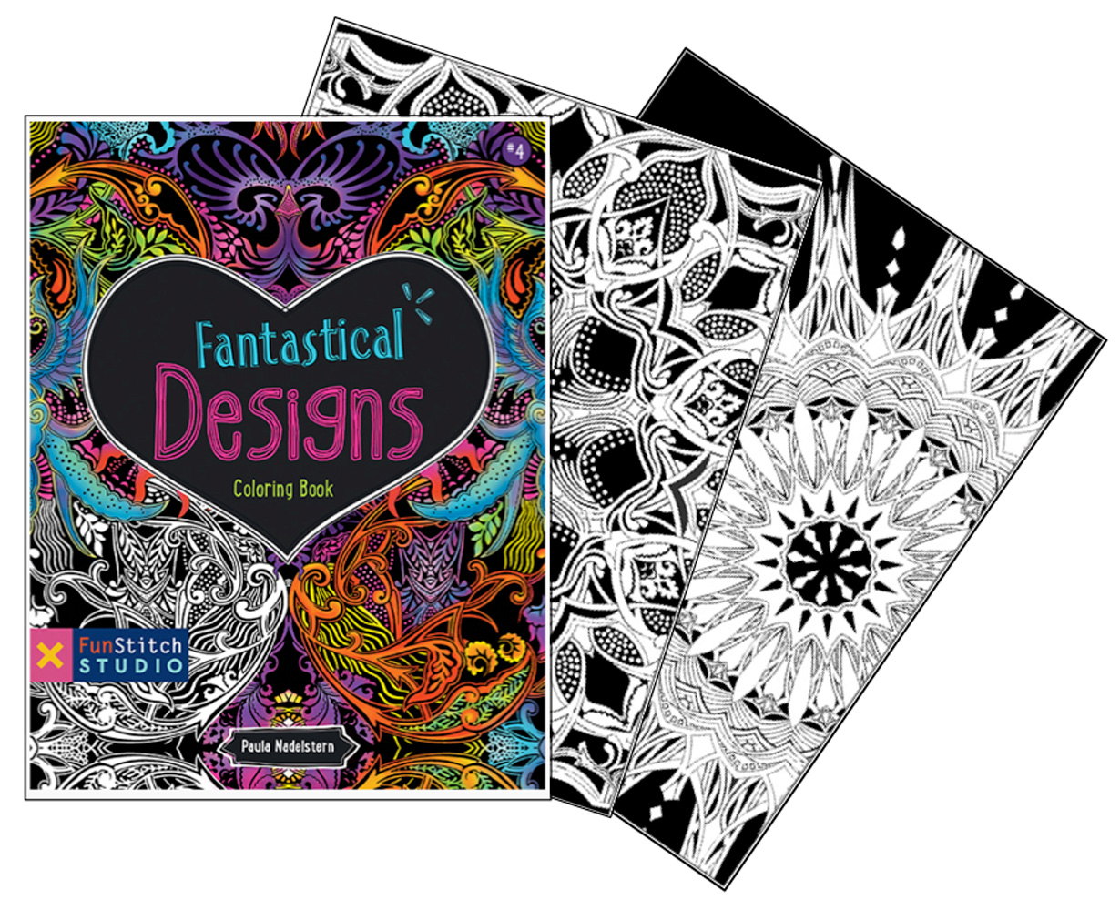Coloring Book: Fantastical Designs