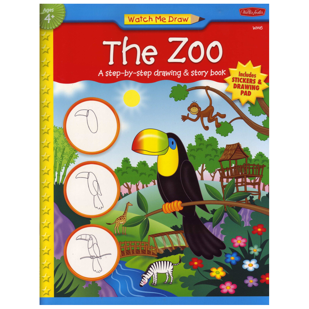 W Foster Watch Me Draw: The Zoo
