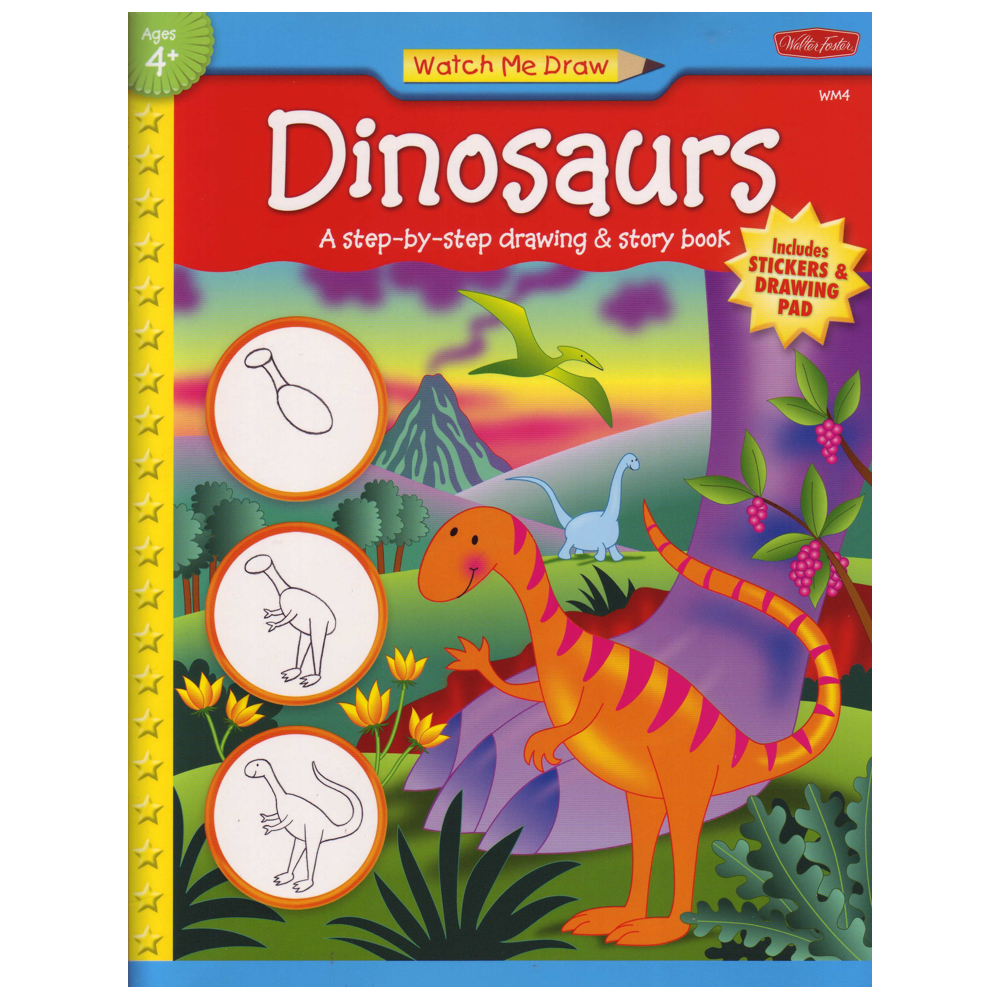 W Foster Watch Me Draw: Dinosaurs