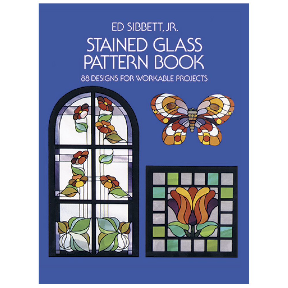 Dover Book Stained Glass Patterns