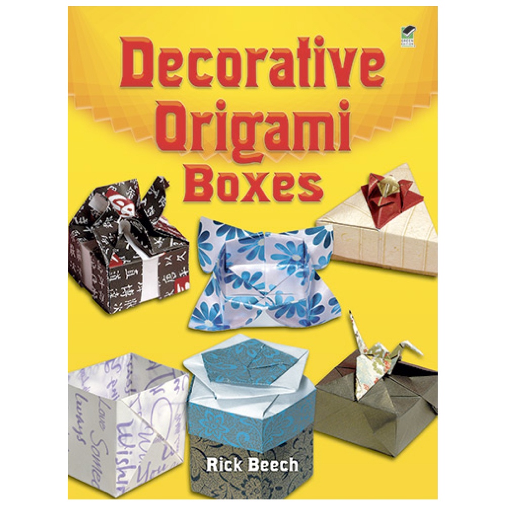 Dover Book Decorative Origami Boxes