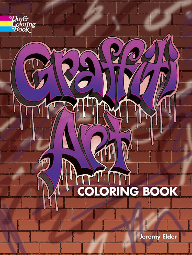 Dover Coloring Book: Graffiti Art