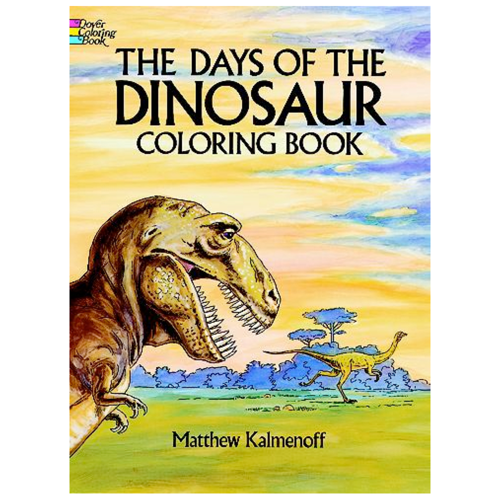 Dover Coloring Book Days Of The Dinosaur