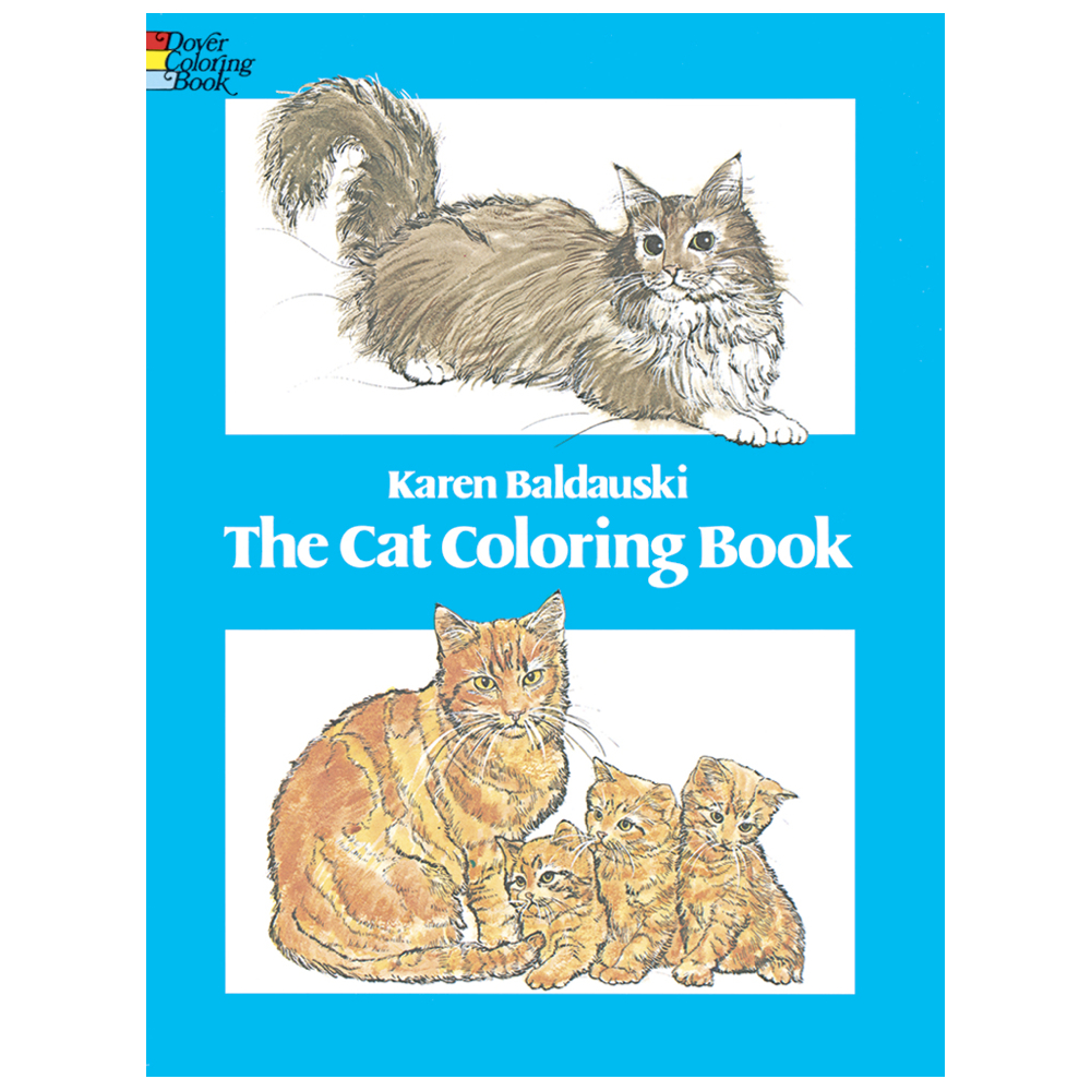 Dover Coloring Book The Cat Book