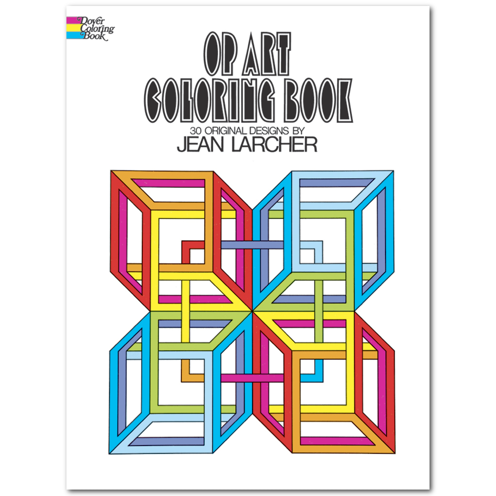 Dover Coloring Book Op Art