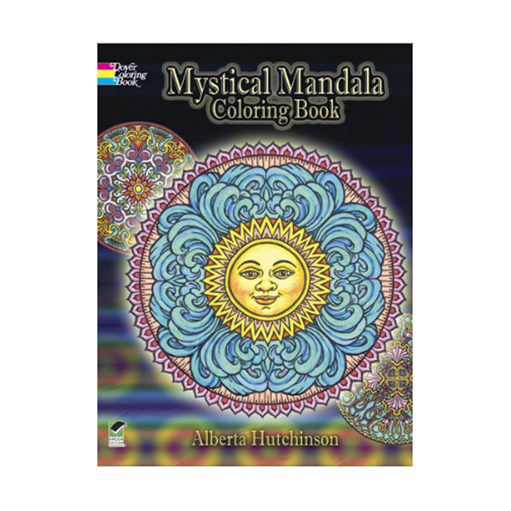 Creative Haven Coloring Book Nature Mandalas
