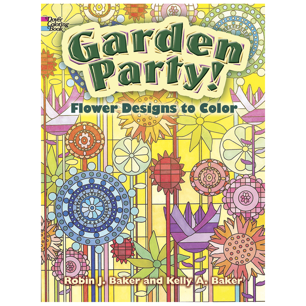 Dover Coloring Book Garden Party