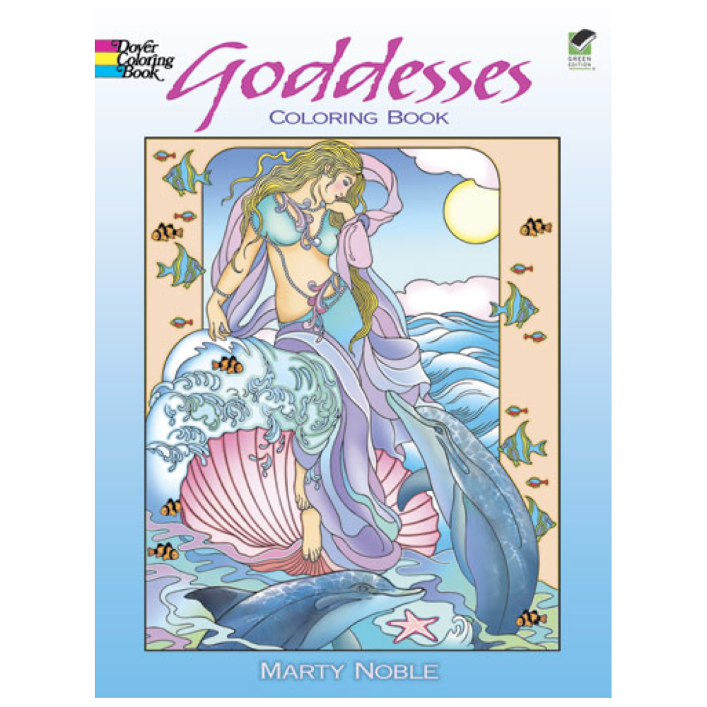 Dover Coloring Book Goddesses