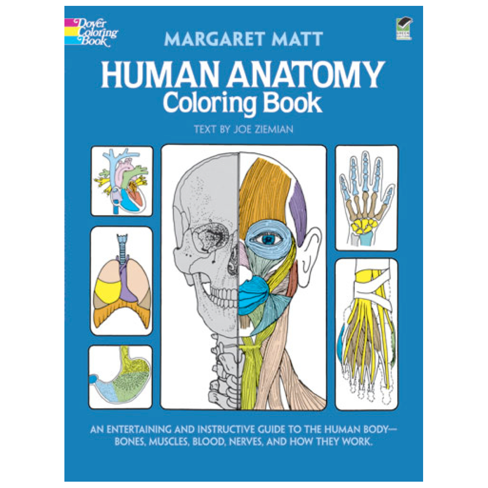 Dover Coloring Book Human Anatomy