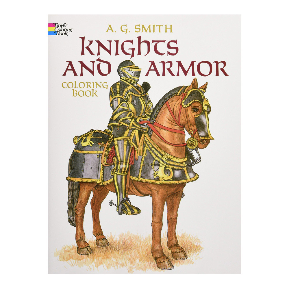 Dover Coloring Book Knights And Armor