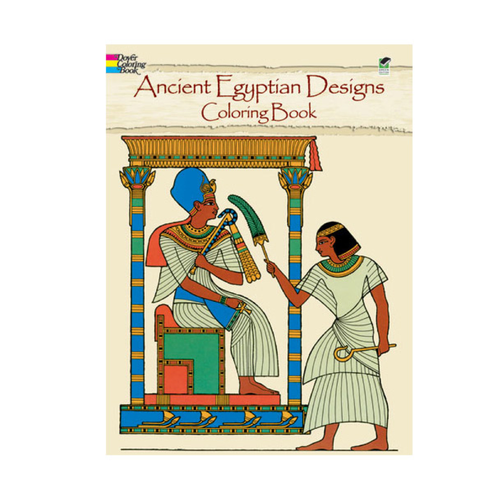 Dover Coloring Book Ancient Egypt