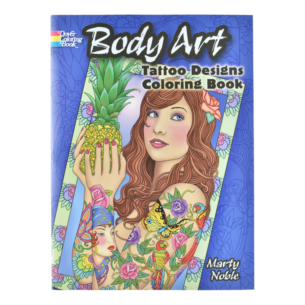 Dover Coloring Book Body Art Tattoo Designs