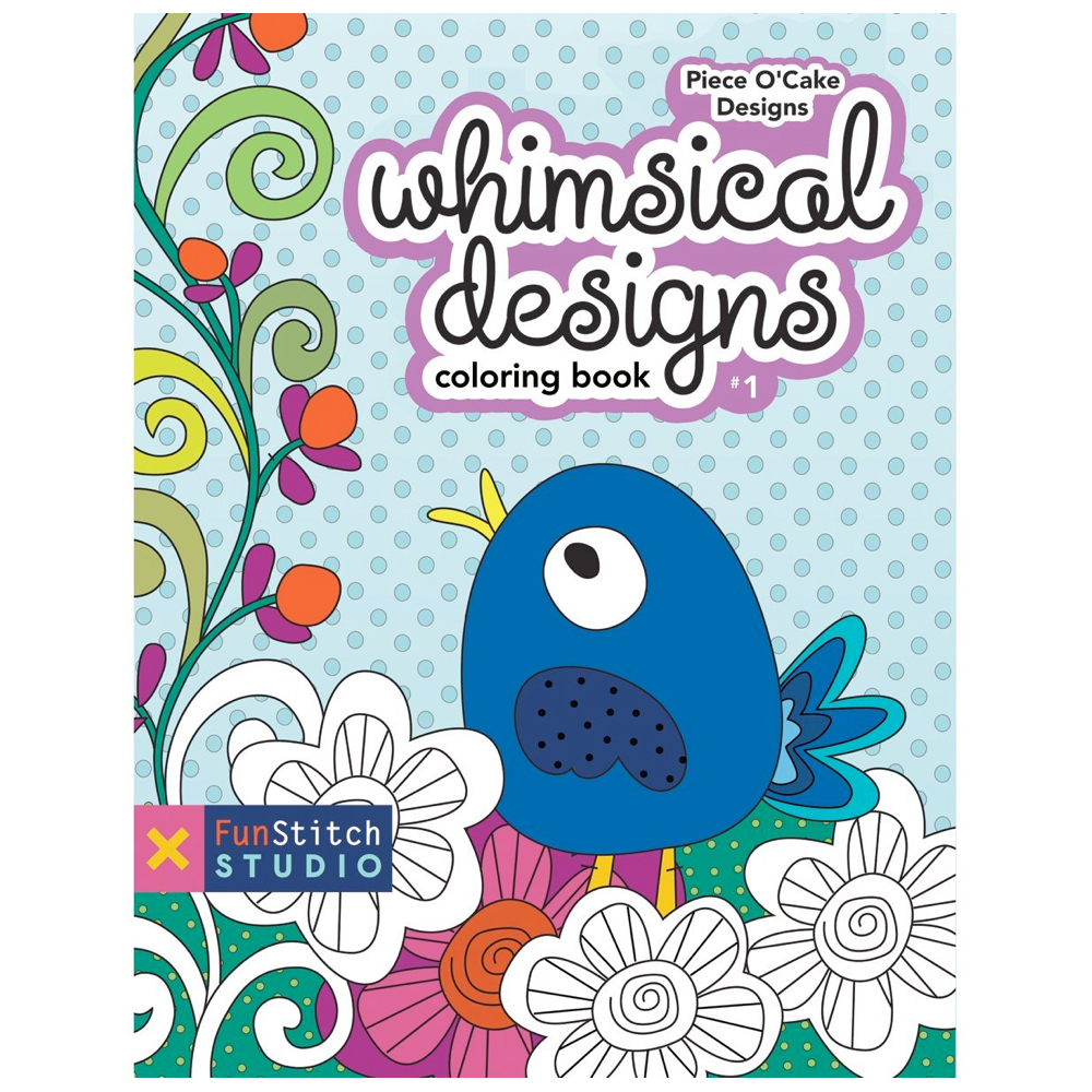 Whimsical designs coloring book - Whimsical Designs Coloring Book