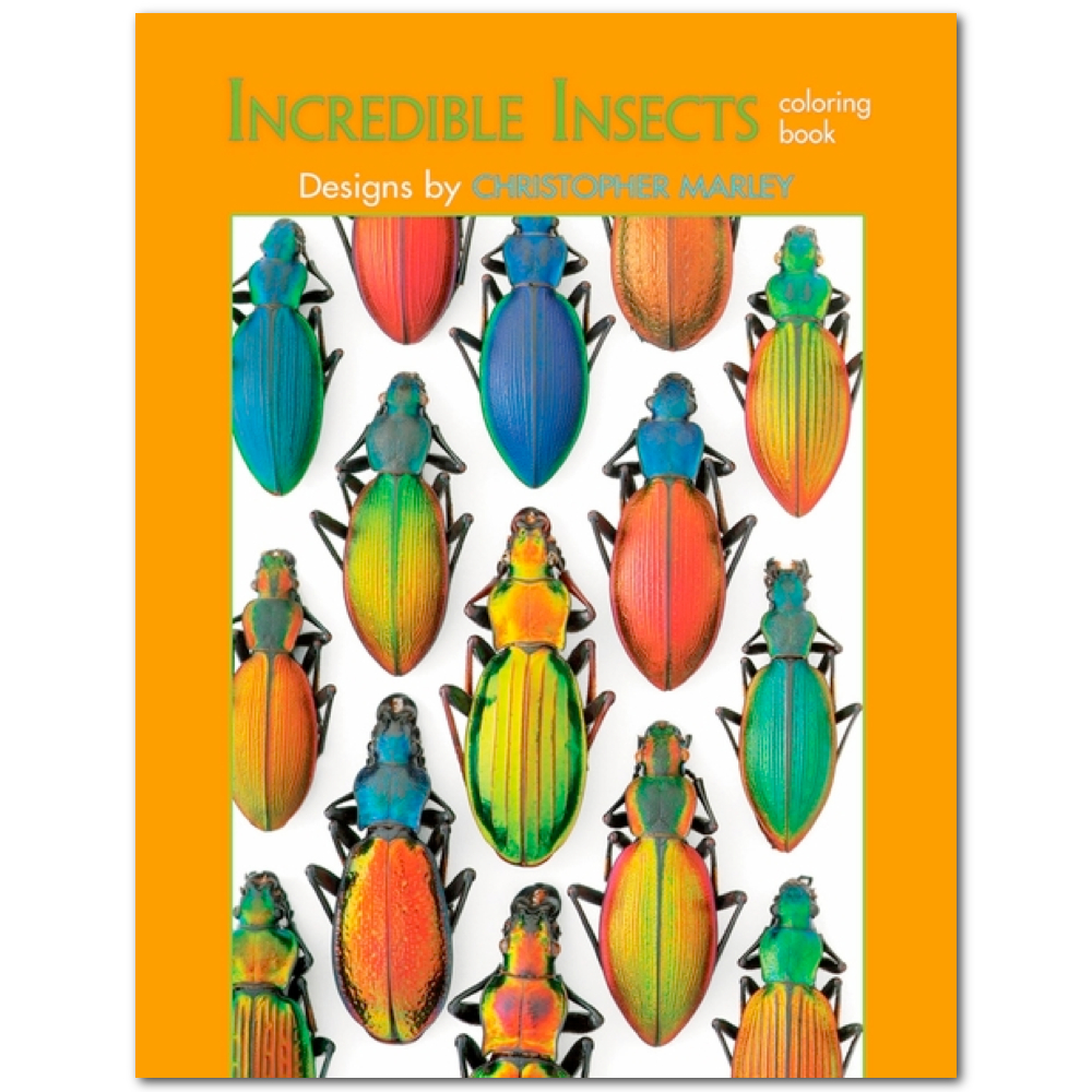 Coloring Book: Incredible Insects